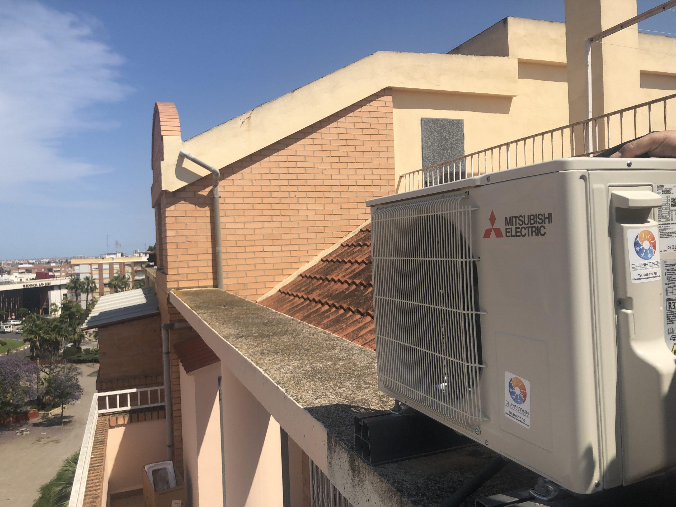 instalacion aire acondicioado